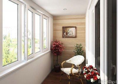 теплое остекление балкона москва